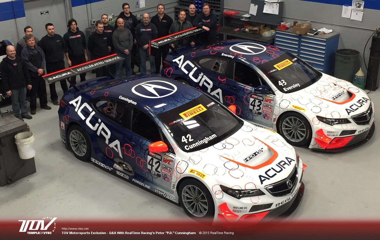 Temple of VTEC Motorsports | News - RealTime Acura Ready for Two-Car on